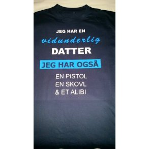 dating min datter tee shirt