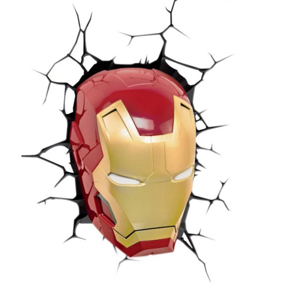 Phillips Marvel Ironman 3D Lampe