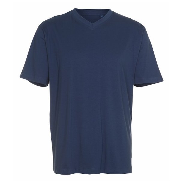 Basic cotton v-neck